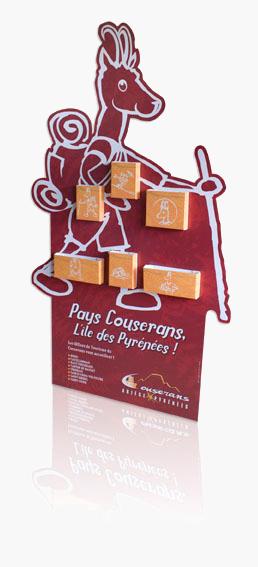 Porte leaflet ''Pays couserans''