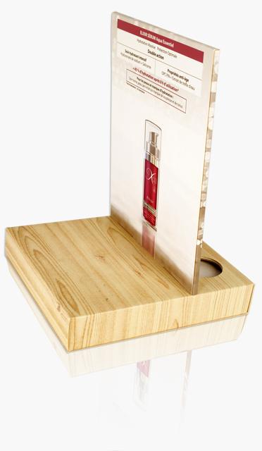 Présentoir carton fronton impression offset